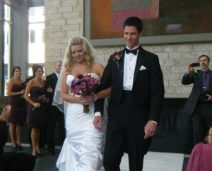 Married on August 11, 2012 at the Winspear Centre, Edmonton